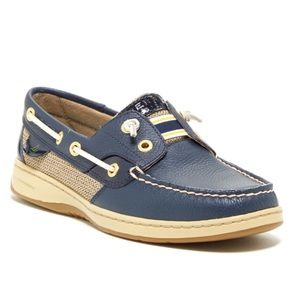 Sperry Rainbowfish Laceless Boat Shoes Size 6.5